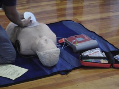 AEDもICT